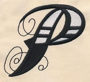 Inked Letter P_image