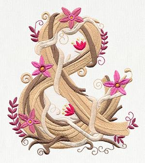 Blooming Ampersand_image