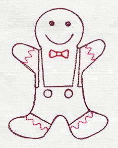 Christmas Sweets - Gingerbread Man_image