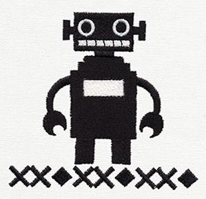 Ironic Sweater - Robot_image