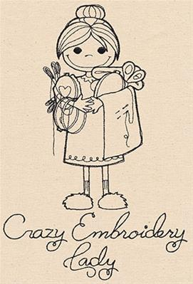 Crazy Embroidery Lady_image