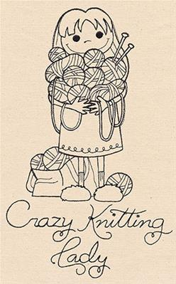 Crazy Knitting Lady_image