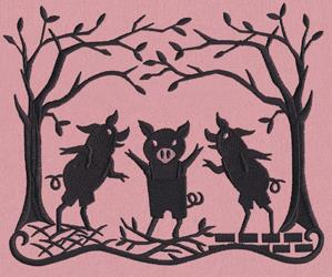 Fairytale Shadows - Three Little Pigs_image