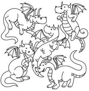 Creature Feature - Dragon Party_image
