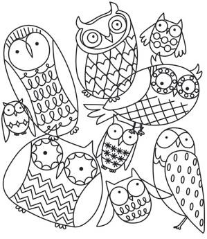 Hoot Owls Collage_image