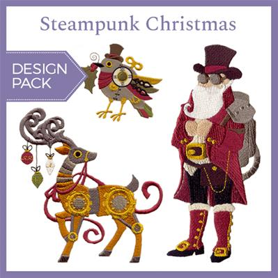 Steampunk Christmas (Design Pack)_image