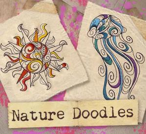 Nature Doodles (Design Pack)_image