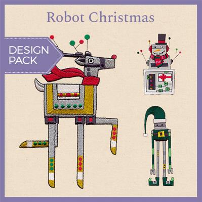 Robot Christmas (Design Pack)_image
