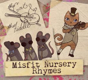Misfit Nursery Rhymes (Design Pack)_image