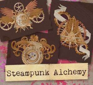 Steampunk Alchemy (Design Pack)_image