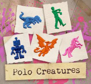 Polo Creatures (Design Pack)_image