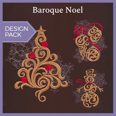 Baroque Noel (Design Pack)_image