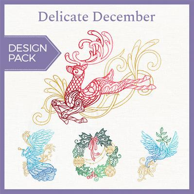 Delicate December (Design Pack)_image
