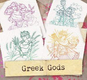 Greek Gods (Design Pack)_image