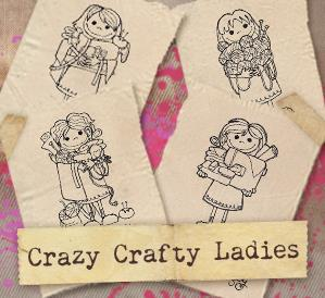 Crazy Crafty Ladies (Design Pack)_image
