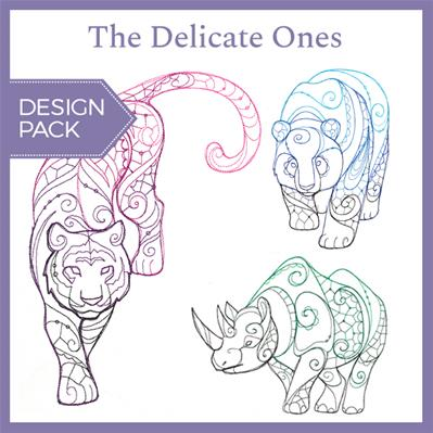 The Delicate Ones (Design Pack)_image