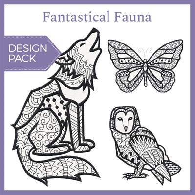 Fantastical Fauna (Design Pack)_image