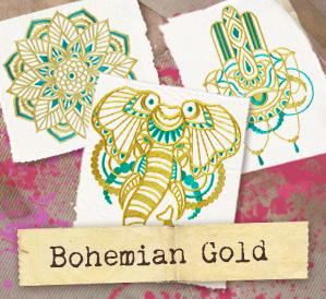 Bohemian Gold (Design Pack)_image
