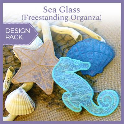 Sea Glass (Freestanding Organza) (Design Pack)_image