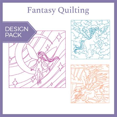 Fantasy Quilting (Design Pack)_image