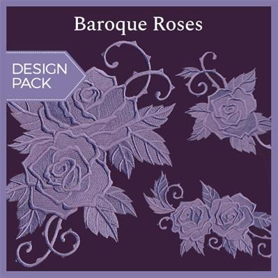 Baroque Roses (Design Pack)_image