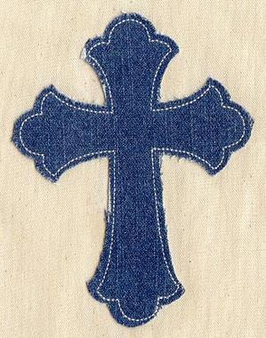 Simple Cross (Applique)_image