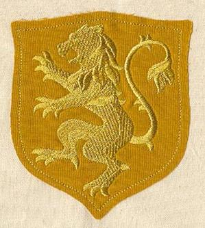 Lion Rampant (Applique)_image
