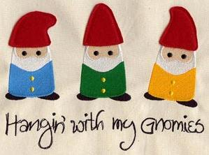 Hangin' with My Gnomies (Applique)_image