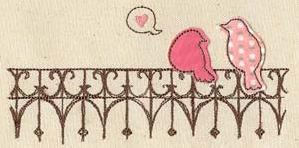 Lovebirds (Applique)_image