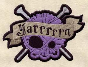 Yarrrrrn - Knitting (Patch)_image