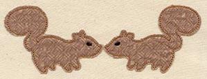 Squirrely Love (Applique)_image