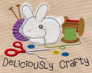 Deliciously Crafty (Applique)_image