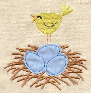 Nest Eggs (Applique)_image