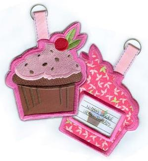 Tasty Cupcake Tag (In the Hoop)_image