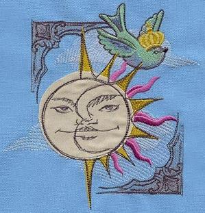 Celestial Collage (Applique)_image