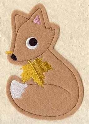 Maple Fox (Applique)_image
