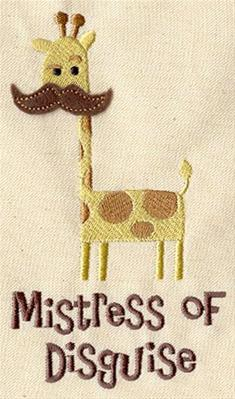 Mistress of Disguise (Applique)_image