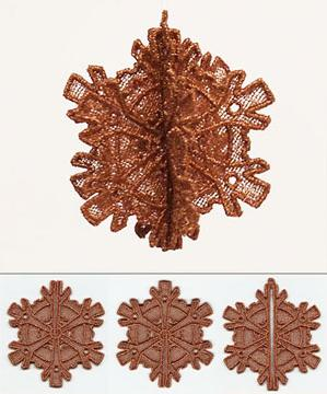 Steampunk Snowflake 3D (Lace)_image