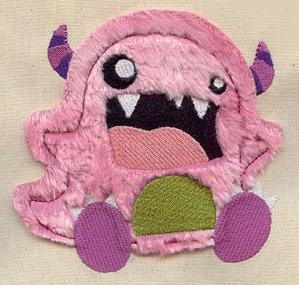 Furry Monster (Applique)_image