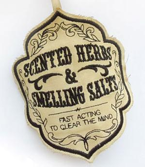 Scented Herbs and Smelling Salts Sachet (In the Hoop)_image