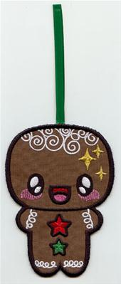 Kawaii Christmas - Gingerbread Man (Ornament)_image