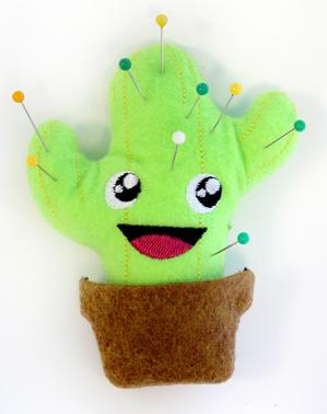 Cactus Pincushion (Stuffed)_image