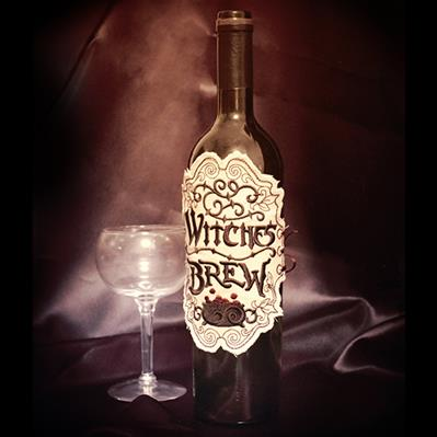 Witches Brew Apothecary Label (In the Hoop)_image