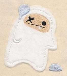 Abominable Snowman 3 (Applique)_image