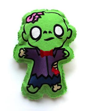 Little Brainiac Zombie (Stuffed)_image