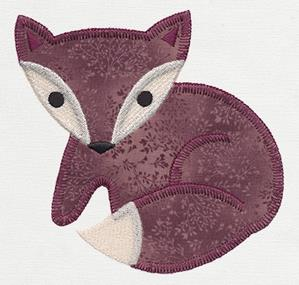 Patchwork Thicket - Fox (Applique)_image