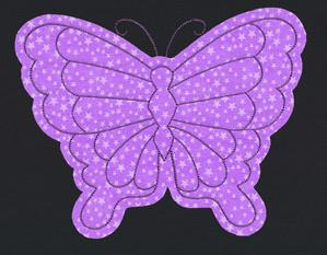 Flash Stitch - Butterfly (Applique)_image