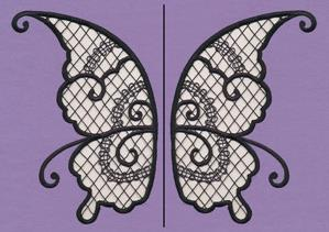 Fairy Wings (Cutwork) (Wing Pair)_image