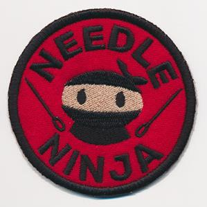 Crafty Merit Badges - Needle Ninja (Patch)_image
