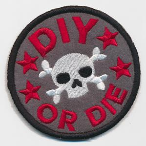 Crafty Merit Badges - DIY or Die (Patch)_image